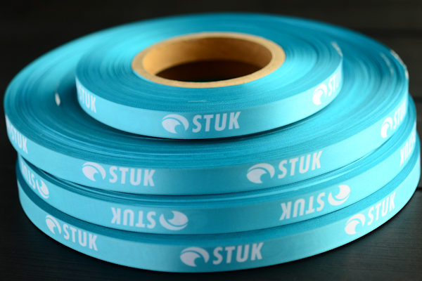 Gift ribbon with sublimation printing