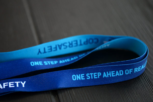 Full Colour Sublimation lanyards with conference badge