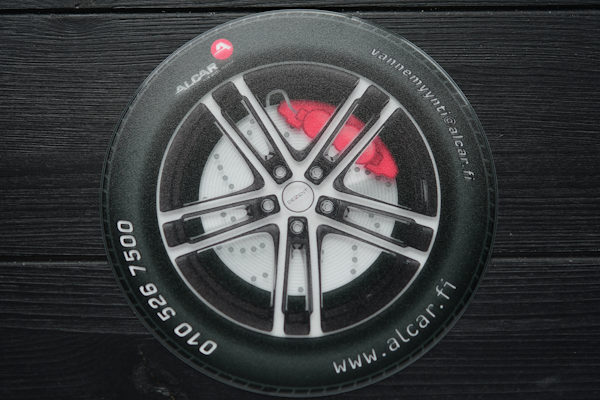 Vinyl mouse pad with printing