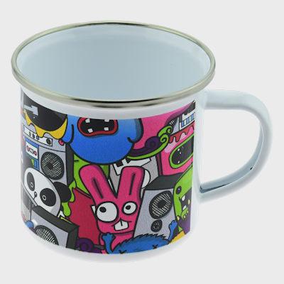 Sublimation Printed Enamel Mug